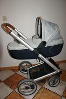 Wózek MUTSY IGO Pure Fog Nomad 2w1 głęboki spacerowy + torba i adapter