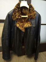 Куртка,курточка кожаная мужская на овчине
