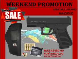Blank Pistol Weekend Promo