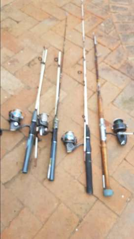 Fishing Rods For Sale x 4