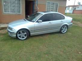 Bmw318 E46 automatic with sunroff  with megrim