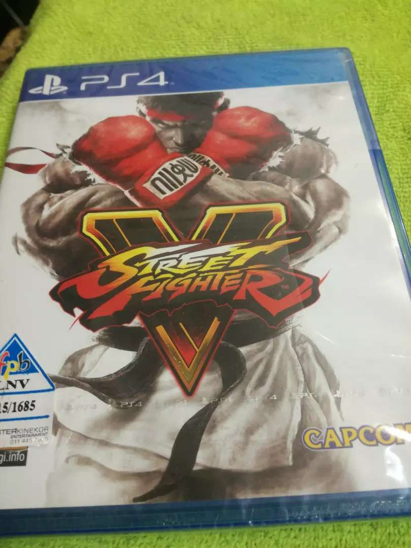 Ps4 STREET FIGHTER 0