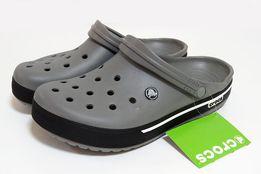 Кроксы серые мужские оригинал. Сабо Crocs Опт и розница