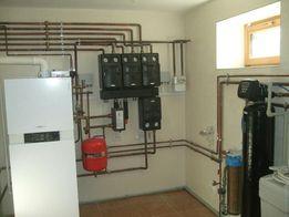 Монтаж систем отопления бытовых и промышленных объектов