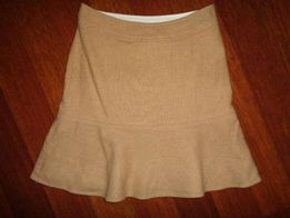 GAP brązowa wełniana spódnica spódniczka wełna 90% wool jak nowa