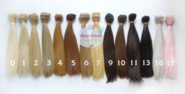 Волосы для кукол, трессы . длина 20 см