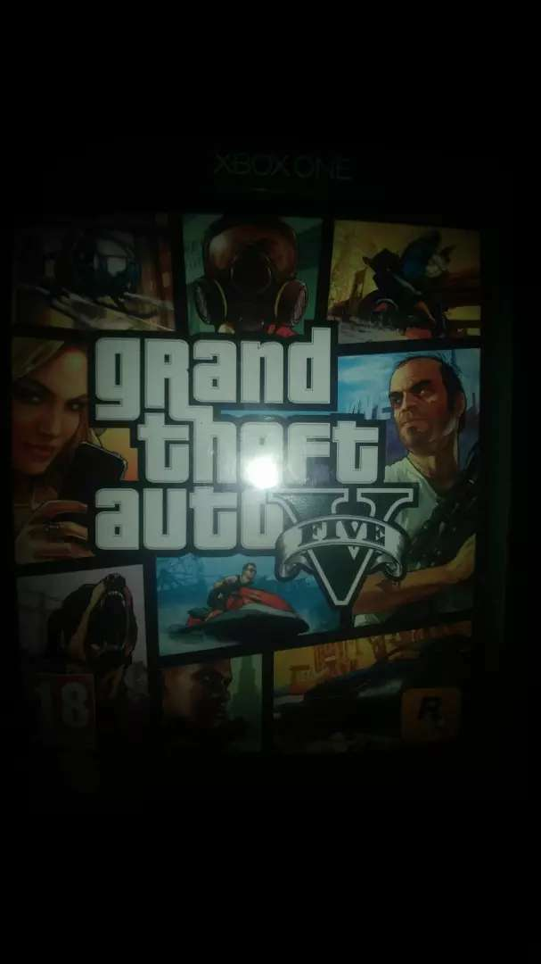 Brand new Grand theft auto 5 Xbox one game CD 0