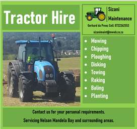 Tractor Hire