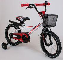 Rowerek BMX 16 cali rower czerwony dla chłopca POLSKI