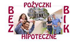 Łatwa i szybka pożyczka hipoteczna - bez BIK, KRD, ZUS i US!