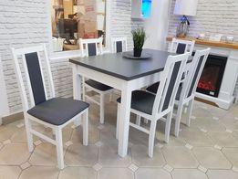 Nowy Stół + 6 Krzeseł Raty Grudziądz Kwidzyn Malbork Sztum Prabuty