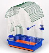 Клетки для попугаев в полной комплектации