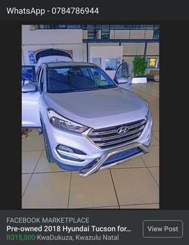 Pre-owned Hyundai Tucson for sale.