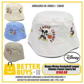 Disney Mickey Basketball League Champs Canvas Sporty Hate