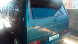 Microbus can be used as transport to make extra cash