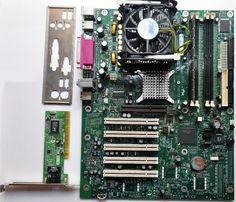 Продам материнскую плату Intel D865PERL, процессор, DDR, Сетевая