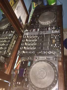 Cdjs Gemini 203 for hire and a mixer