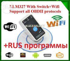 ELM327 V1.5 PIC18F25K80 OBD2 iOS/Android, Bluetooth/Wi-Fi Оригинал