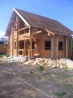 Построить деревянный дом со сруба Дикий сруб из бруса