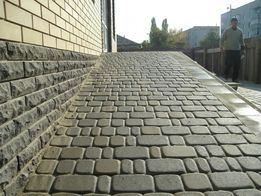 Укладка тротуарной плитки,бетонные работы