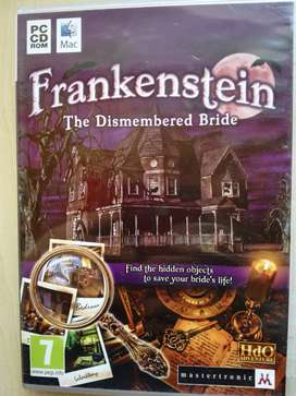 PC CD ROM MAC GAME FRANKENSTEIN: THE DISMEMBERED BRIDE