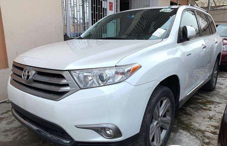 American used 2013 Toyota Highlander Limited 0