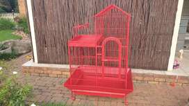 Glam Parrot cage