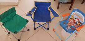 Kids foldable chairs