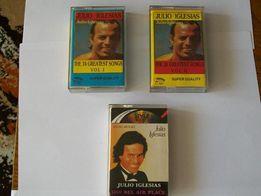 3 kasety Julio Iglesias