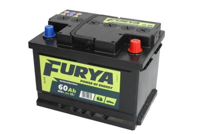 Akumulator 60Ah 450A BANNER FURYA Akumulatory Gwarancja Niskiej Ceny Rzeszów - image 1