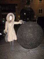 Зимние пальто-пуховик с натуральным мехом, Италия