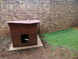 Dog Kennel with slabs