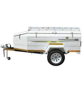 New Camp Master 6ft Town & Country 200 trailer. Used only once.