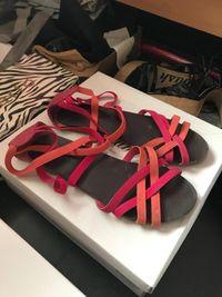 Ravne sandale 38 0
