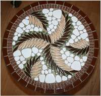 Image of Mosaic Table (p2854/36)