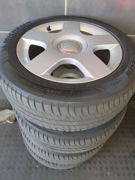 Audi mag wheels and tyres