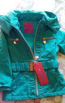 Новая куртка-парка для девочки Grace, Венгрия.