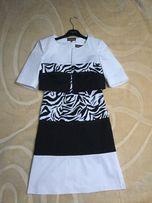 Natali Dler r.36 elegancka sukienka, żakiet-komunia, wesele