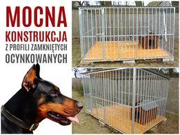 Kojec dla psa 3x2 ocynkowany profil klatki boksy kojce RÓŻNE ROZMIARY