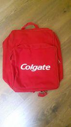 Plecak colgate nowy nigdy nie uzywany okazja tanio czerwony plecak