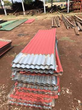 Used corrugated roof sheets