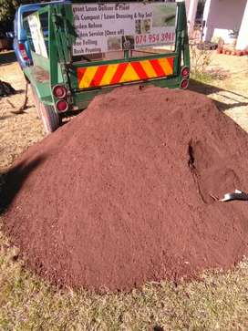 Sterilised top soil for sale R1100 for 2m3