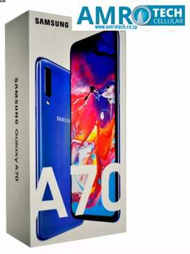 Brand New Samsung A70 128GB Sealed in box