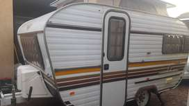 JURGENS FLEETLINE 4 1984 MODEL WITH FULL TENT AND RALLY TENT