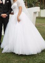 весільна свадебное сукня платье плаття пишна з мереживом с кружевом