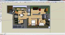 Проектні роботи, виготовлення ПКД SketchUp