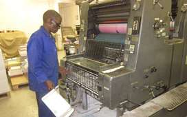 Print Finisher or Bookbinder