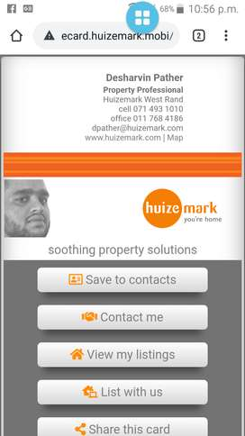Looking to buy or sell property? For excellent service give me a call!
