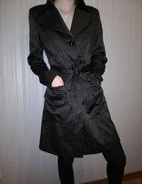 Атласное пальто (плащ), размер М