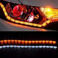 Światła DRL LED DYNAMICZNE Płynące kierunkowskaz AUDI VW SKODA BMW 7W